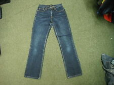 """Dorothy Perkins Classic Fit Jeans Size 10R L 31"""" Faded Dark Blue Ladies Jeans"""