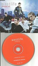 Brian McFadden WESTLIFE Uptown Girl EDIT PROMO CD Single BILLY JOEL Remake cover