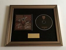 PERSONALLY SIGNED/AUTOGRAPHED WOLF GANG - BLACK RIVER EP FRAMED CD PRESENTATION.