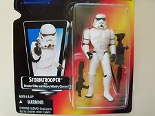 STAR WARS - THE POWER OF THE FORCE - STORMTROOPER / BLASTER RIFLE / CANNON