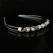 Bridal Wedding Crystal Crown Tiara Headband Hair Accessories Jewelry Prom