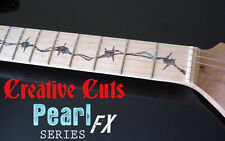 Barb Wire BLACK PEARL Fret Markers Inlay Stickers Decal for Maple Neck GUITARS