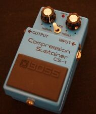 Boss Compression Sustain Pedal CS1 - 78-79 model