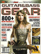 The Ultimate Guide to GUITAR & BASS GEAR Player Electric Acoustic Amps Pedals