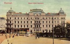 B76574 Romania Bucuresti Grand Hotel Bouvelard old tramway tramvai
