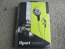 Monster iSport Intensity High Performance Sport Audio In-Ear Headphones Green