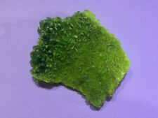 VERY RARE Bright Green Autunite cluster on Matrix