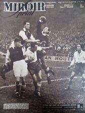 FOOTBALL MATCH ARSENAL RACING RUGBY PARIS LONDRES N° 25 MIROIR SPRINT 1946