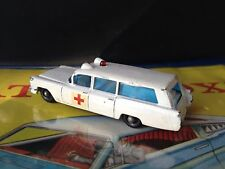 `Matchbox LESNEY No.  1960s  S&S CADILLAC AMBULANCE Lesney England