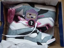 REEBOK PUMP UK 7  HEXALITE ELEPHANT RARE 2007 PINK NEON GREY COURT INSTA FURY