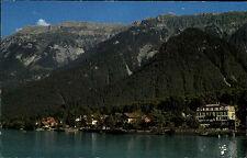 Bönigen am Brienzersee Kanton Bern Schweiz AK ~1960/70 Gesamtansicht See Berge
