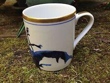 REICHENBACH edler Kaffeebecher KÄFER 0,3 Liter - blau mit Gold