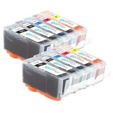 10 Ink Cartridges for Canon Pixma iP4600 MP540 MP560 MP630 MP980 MX860