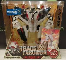 Transformes Revenge Of The Fallen Ramjet W/Collector Card White