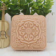 1pcs Square Flower Lace (ZX131) Silicone Handmade Soap Mold Crafts DIY Mould