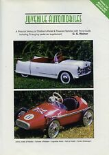 Children's U.K. Toy Pedal & Power Cars Jeeps Etc - Makers Models / Ltd. Ed. Book