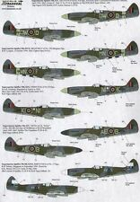 Xtradecal X72178 1/72 Supermarine Spitfire Mk.XIV Model Decals