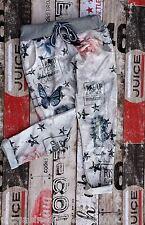Sweathose Boyfriend Chino Sweat Pants PRINT STREETSTYLE bedruckt Schmetterling