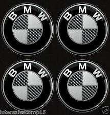 4 AUTOCOLLANTS STICKERS CACHE MOYEU JANTE CENTRE VOITURE BMW AUTO ROUE A 11