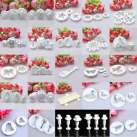 0.99 Sales!! New Icing Cake Decorating Sugarcraft Fondant Plunger Cutters Tools