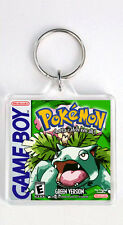 POKEMON GREEN VERSION NINTENDO GAME BOY KEYRING LLAVERO