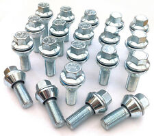 20 x Variable PCD M14 x 1.5 bolts 5x98 5x100 5x106 5x108 5x110 5x112 5x118 5x120