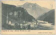 CARTOLINA d'Epoca BIELLA - Caprile 1907