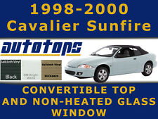 Sunfire Cavalier Convertible Top and Glass Window  Color Choice  Install Video