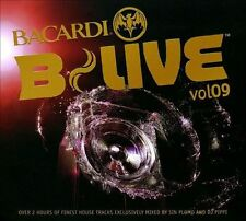 Bacardi B-Live 9 Mixed By DJ Pippi & Sin Plomo, Various Artists, Excellent Impor