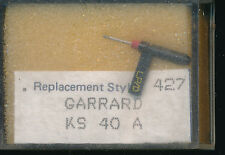 """""""AIGUILLE record needle PICK-UP REPLACEMENT STYLUS 427 GARRARD KS 40A (3)"""