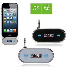 3.5mm Wireless Car Audio Radio FM Transmitter for iphone 6 6s plus 5s 5c Sumsung