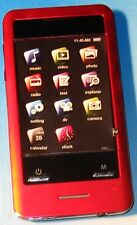 Coby MP828 RED (8 GB) Digital Media Player -TOUCH SCREEN with Micro SD Slot