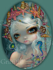 Jasmine Becket-Griffith art print mermaid fairy shells SIGNED Seashell Princess