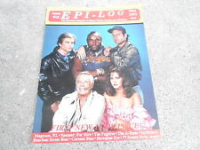 #18 EPI-LOG television magazine ( UNREAD - NO LABEL) THE A-TEAM