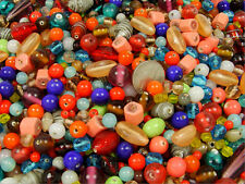 TWO POUND LOT ASSORTED GLASS BEAD MIX (CLEARANCE AS IS) (091720152)