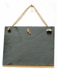 Pheasant Enamel Slate Chalk Notice Board  Messages,Tally Charts Shooting Gift