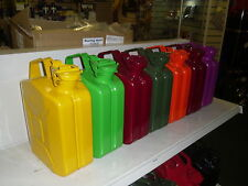 JERRY CAN 5L YELLOW Various Colours Available  TUV Certified / GJC5