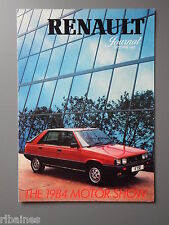 R&L Sales Brochure: Renault Journal 1983 4 F6 5 Master 11 Fuego etc