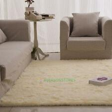Large Modern Style Carpet Floor Mat Living Room Bedroom Hall Fluffy Area Rugs