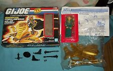 G.I. GI JOE gijoe SERPENTOR WITH AIR CHARIOT IN BOX