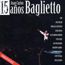 BAGLIETTO JUAN CARLOS-15 ADOS CD NEW