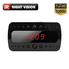 SPY Hidden Camera Clock Remote RF Night Vision Motion Detection Mini DV Quality