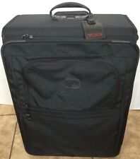 TUMI International Expandable 2 Wheeled Carry-on Travel Luggage Black