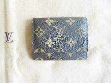 NEW LOUIS VUITTON LV SIGNATURE LOGO BROWN WALLET/DUST BAG DESIGNER 100%AUTHENTIC