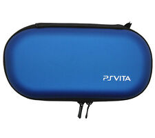 Blue PS Vita PSP Hard Case Protective Cover Bag Pouch Travel Wallet 2705-L