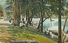 A  Lazy Day In The Shade, Lakeside Park, Carthage MO 1911