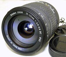 Sigma AF 18-125mm f3.5-5.6 DC Lens 4/3 Mount Evolt Olympus E330 E510 Four Thirds
