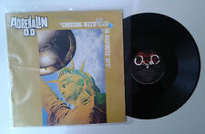 """Adrenalin O. D. """"Cruising with Elvis in bigfoots' U.F.O."""" LP ROUGH JUSTICE VG/VG"""