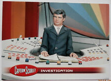 Captain scarlet-individuelle trading card #33, enquête-imparable cartes