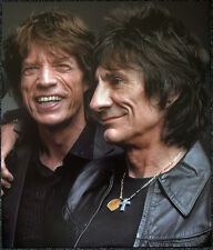 THE ROLLING STONES POSTER PAGE 2005 MICK JAGGER & RON WOOD . Y2
